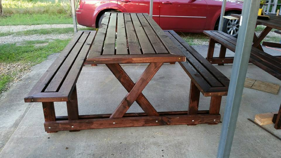 8 Foot Picnic Table Ryobi Nation Projects