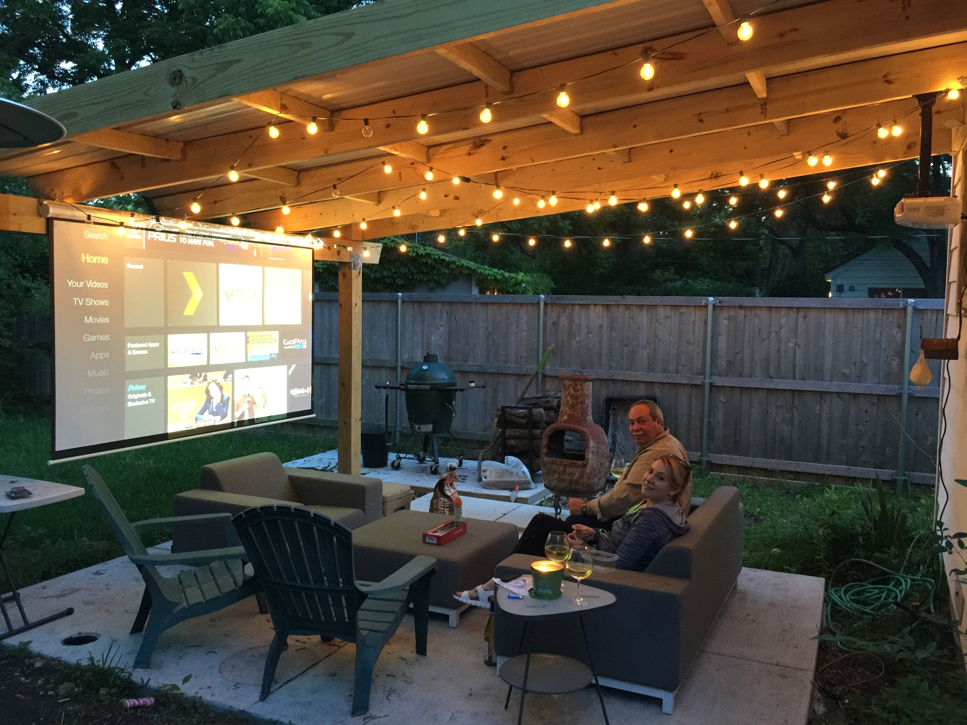 Patio Projector Project Ryobi Landscapes