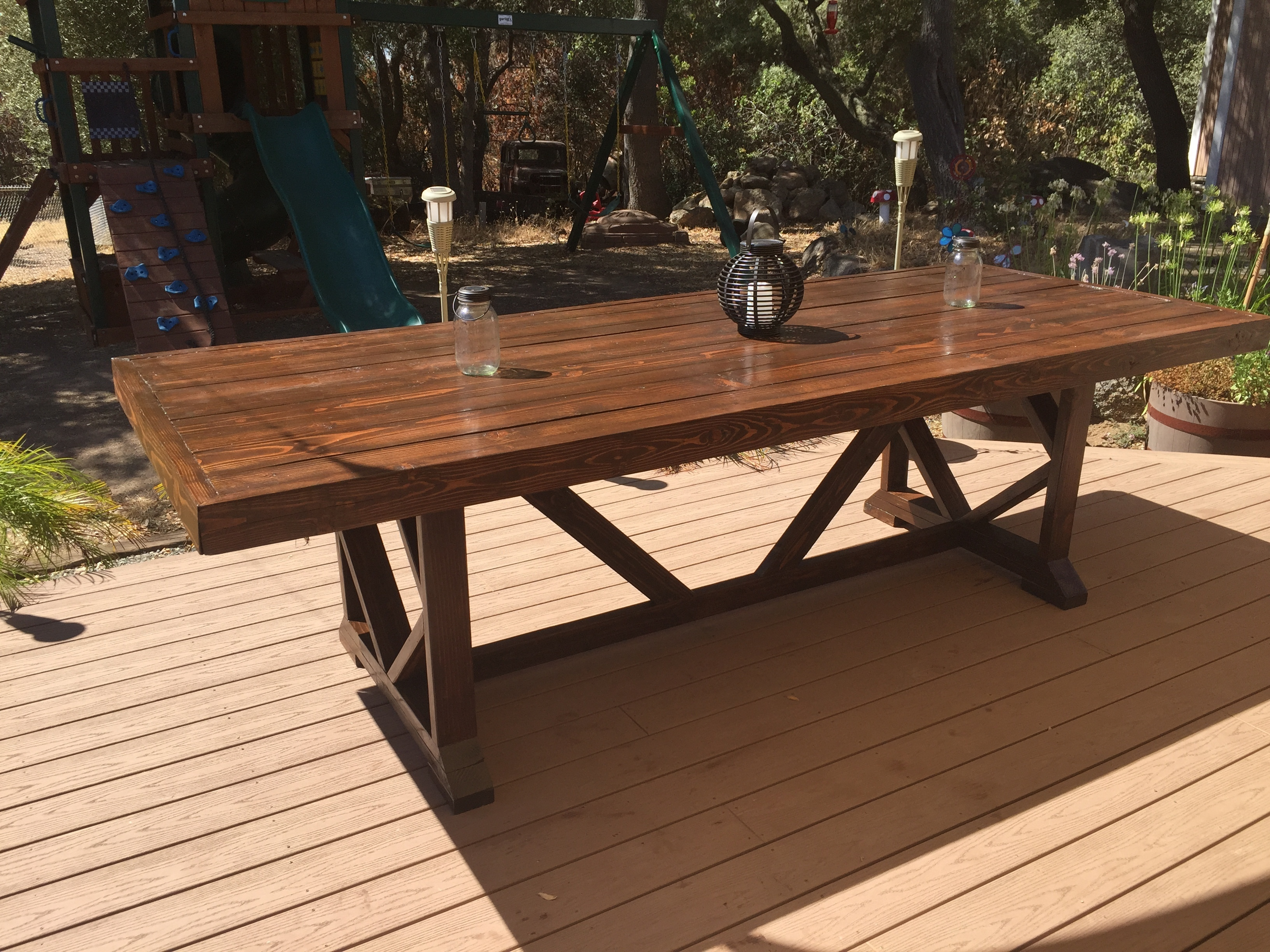 Extra Large Dining Table Seats 10 12