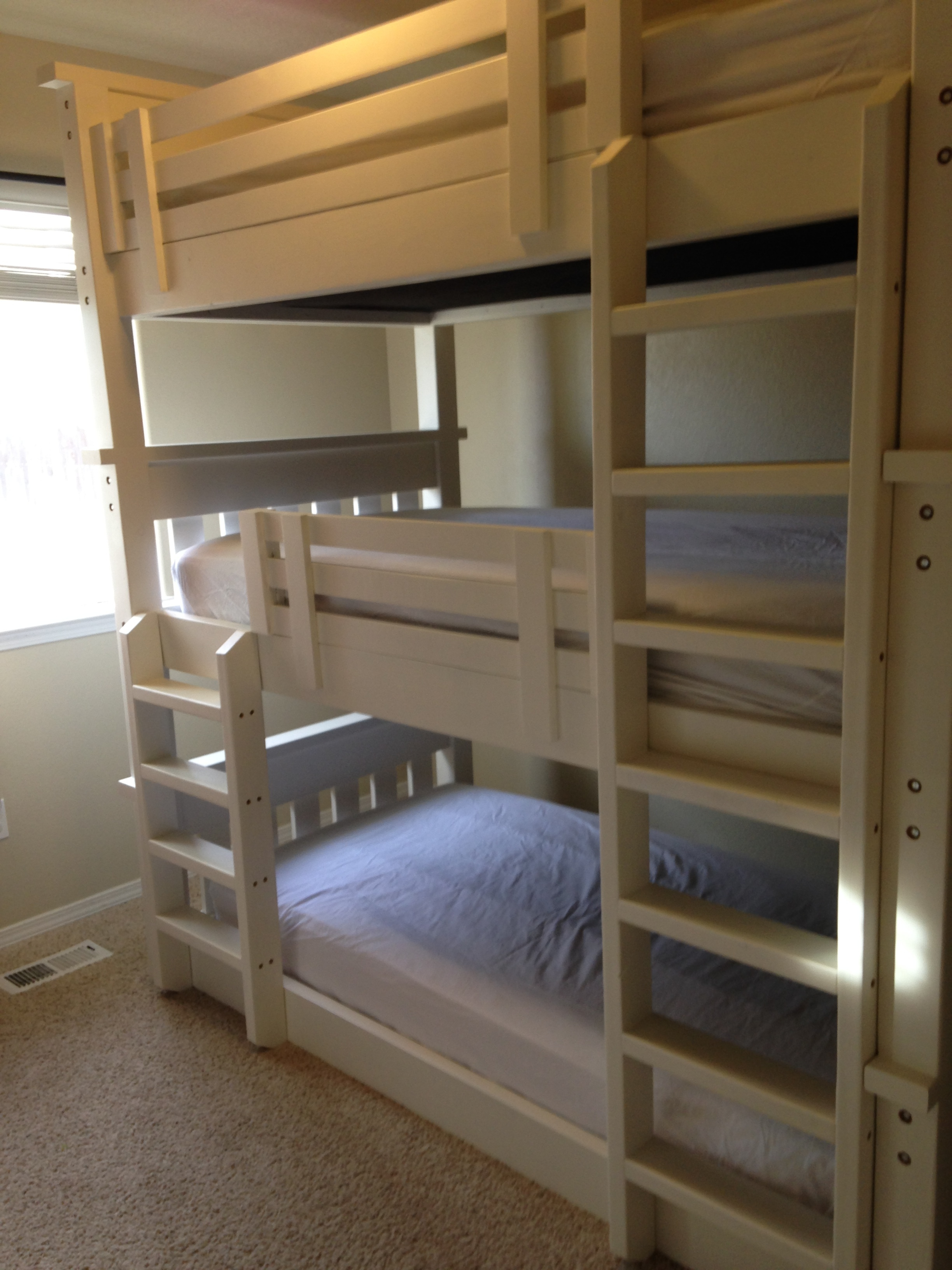 Triple Bunk Bed Ryobi Nation Projects