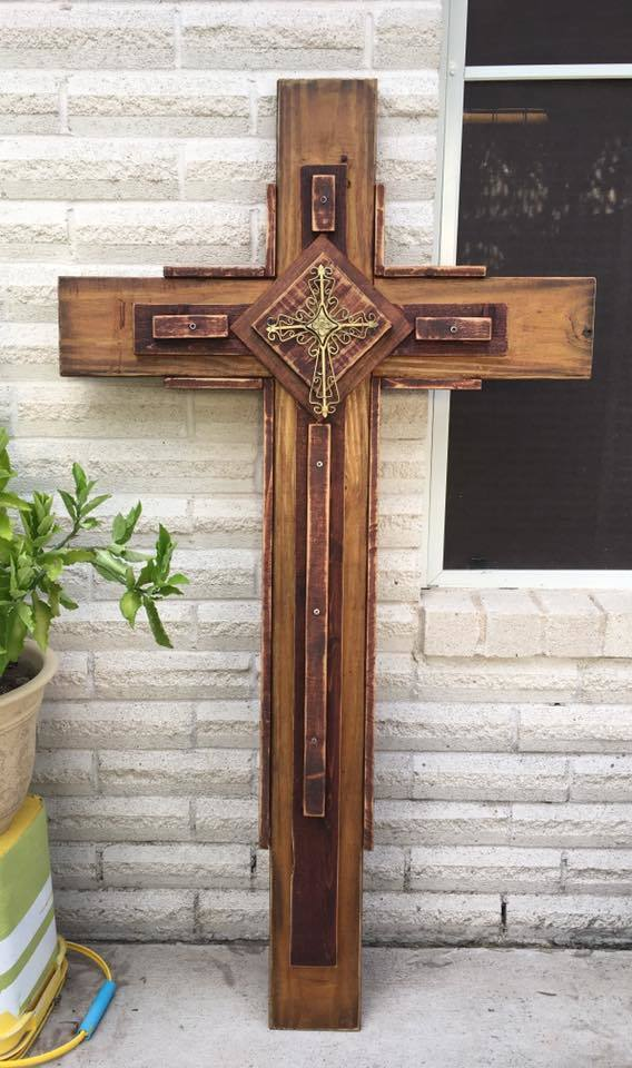 Wooden Outdoor Cross Ryobi Nation Projects