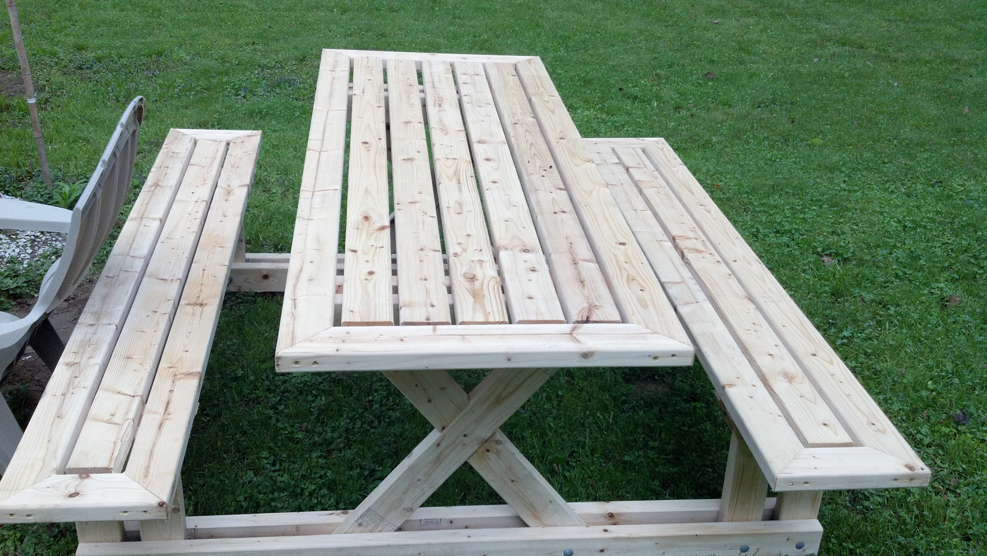 Picnic Table Ryobi Nation Projects