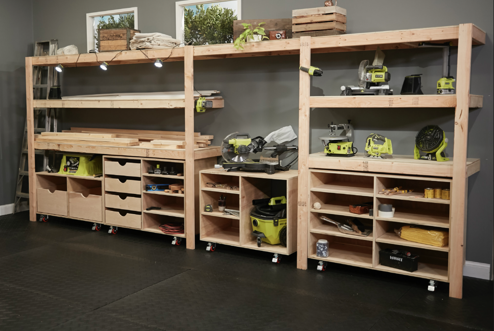 Built In Shelves Ryobi Nation Projects