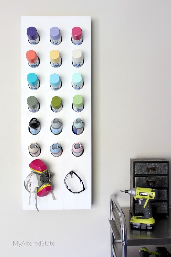 Diy Spray Paint Organizer Ryobi Nation Projects