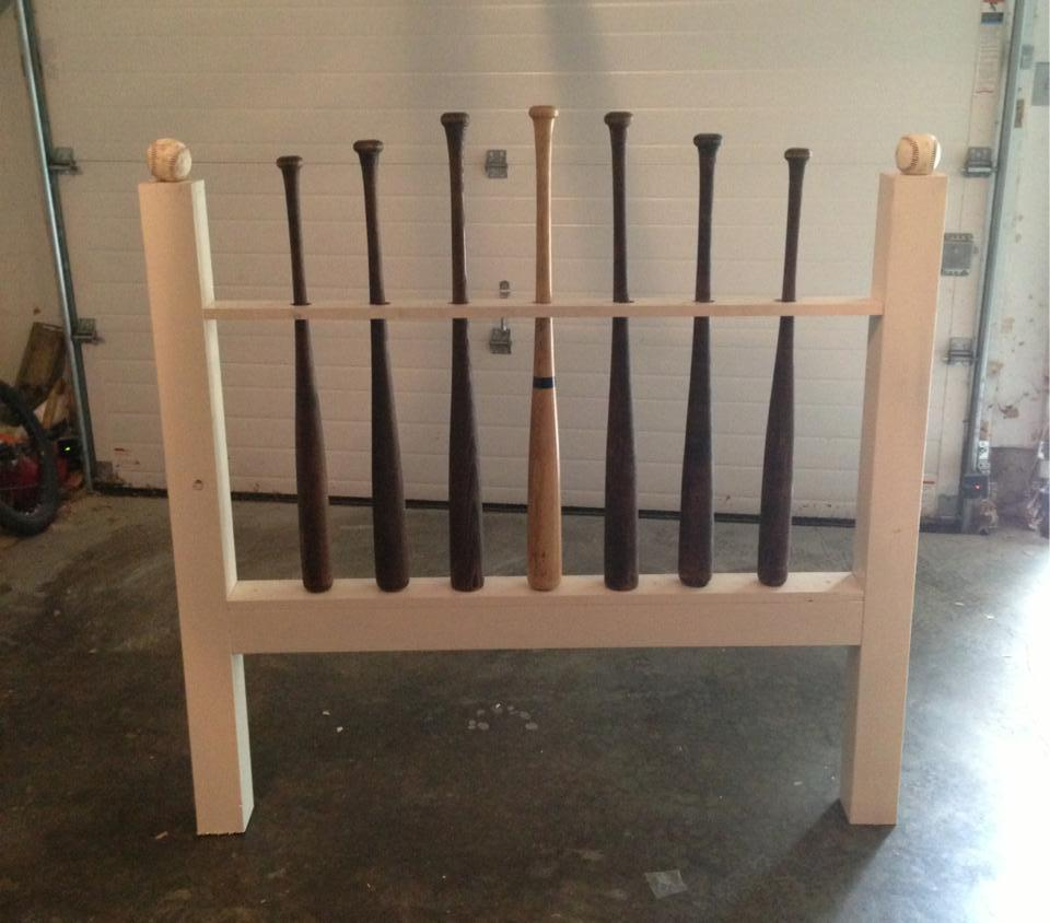 Baseball Bat Headboard Ryobi Nation Projects