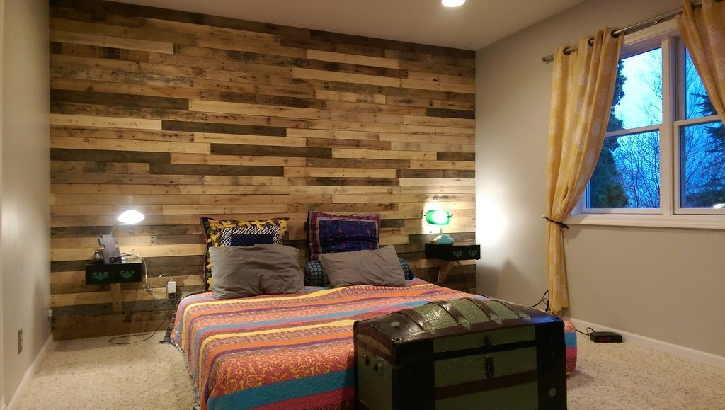 Pallet Accent Wall Ryobi Nation Projects