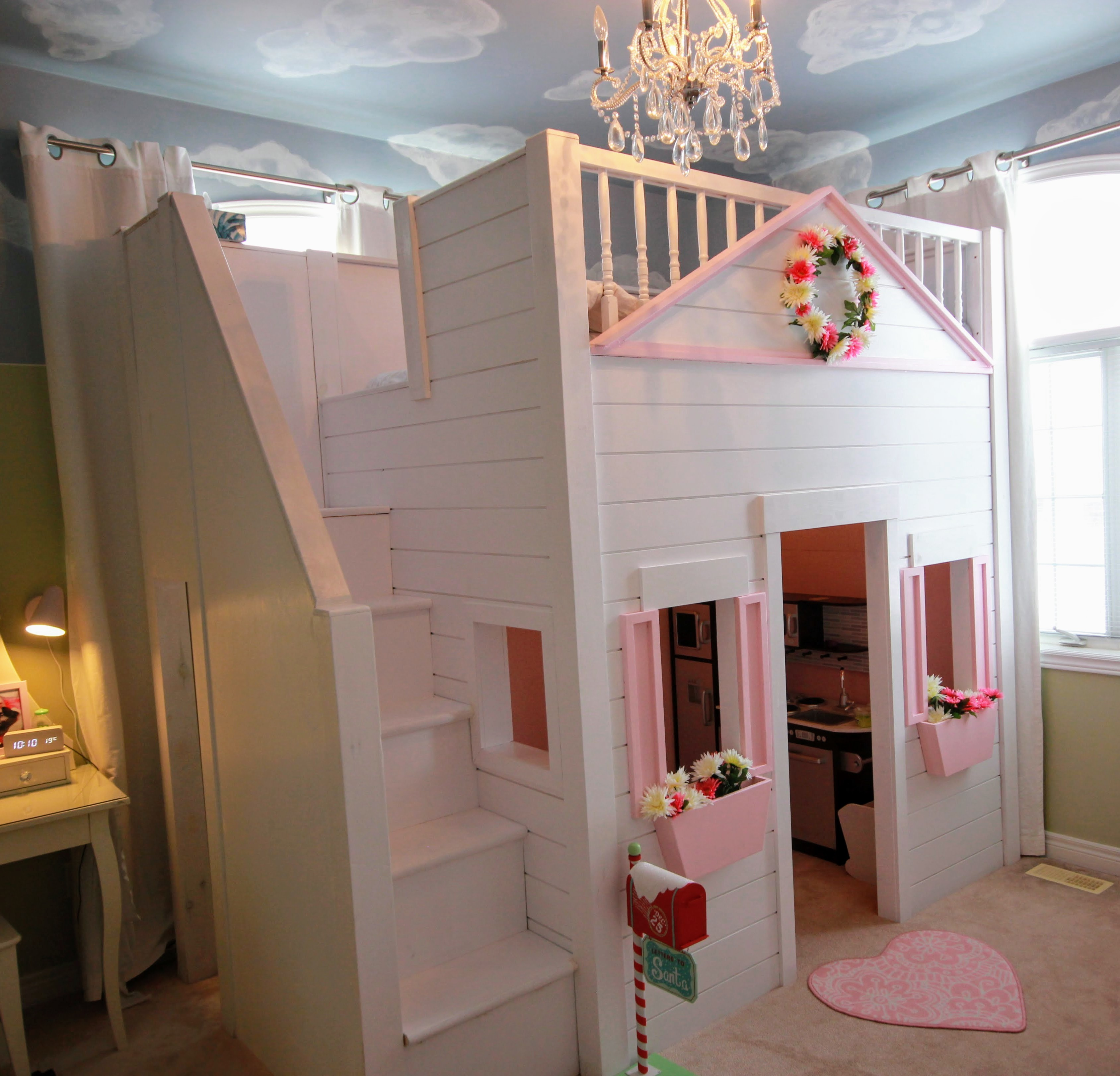 The Ultimate Bunk Bed Playhouse