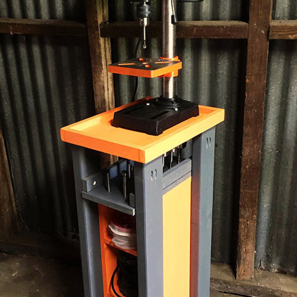 Rolling Drill Press Cart With Bonus Storage Ryobi
