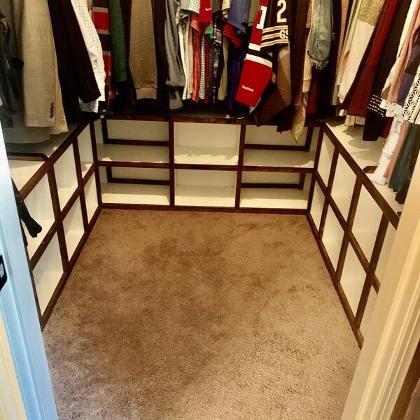 Photo: Closet organization