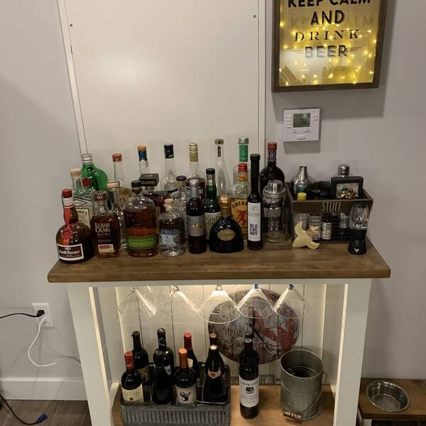 Photo: Evening cocktail table