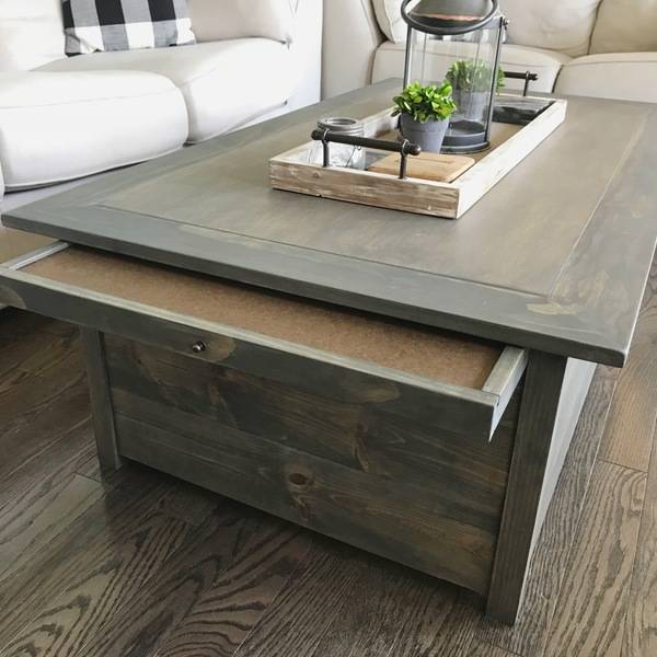 Trundle Coffee Table With Puzzle Tray Ryobi Nation Projects