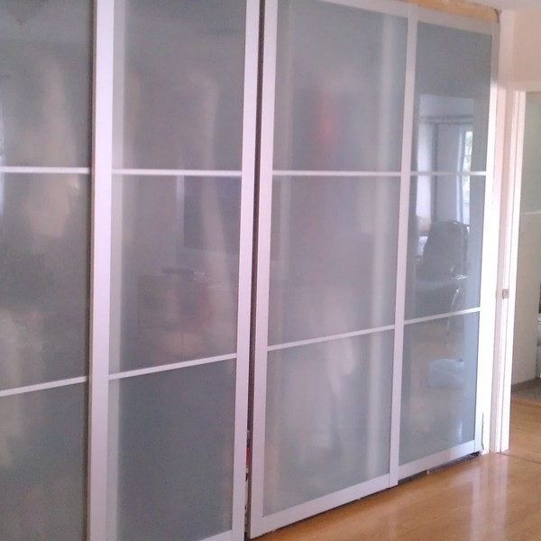 Modern Sliding Closet Doors In Old Closet Space Ryobi Nation Projects