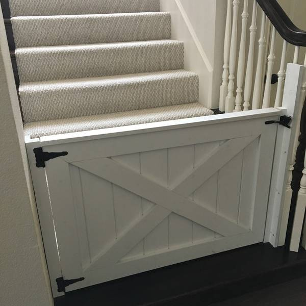Toddler Stairs Barn Door Baby Gates For The Win Ryobi Nation