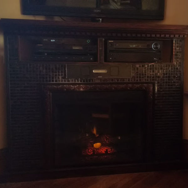 Photo: Fireplace Entertainment Center