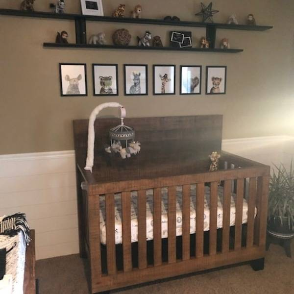 Photo: Baby Room Shiplapped