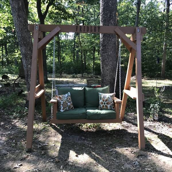 Photo: Outdoor Swing