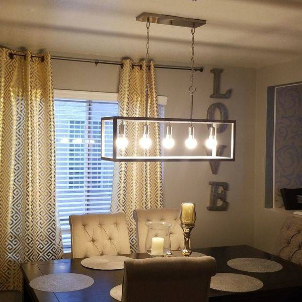 Photo: Dinning room chandalier