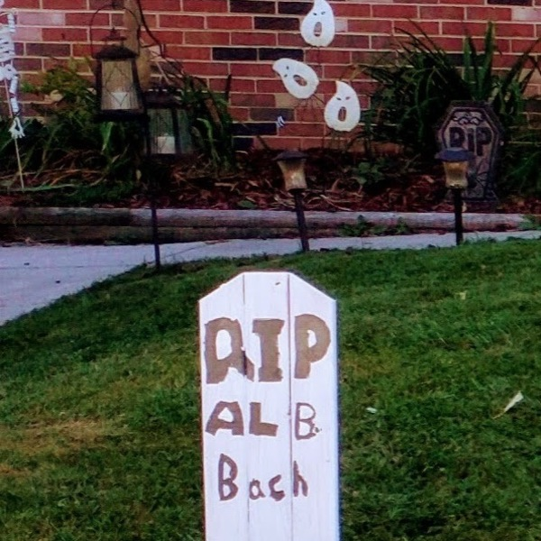 Photo: Halloween Tombstones