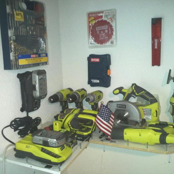 Photo: The Tool Shelf In The Corner