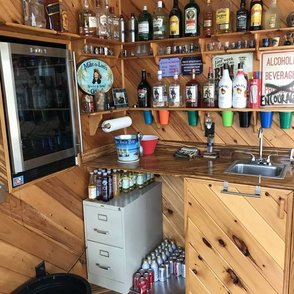 Photo: THE wet bar
