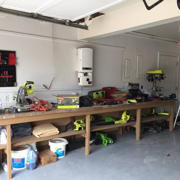 Photo: Our Ryobi Garage