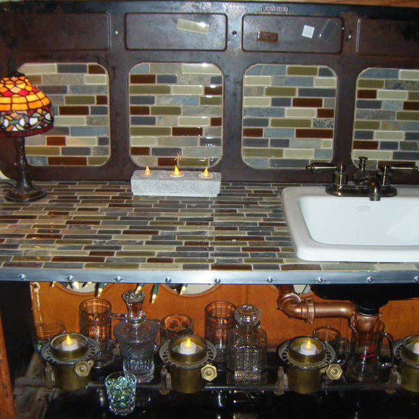 Photo: Kerosene Stove Wet Bar