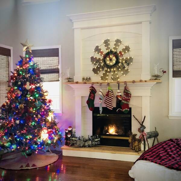 Photo: Fireplace Surround and Mantle