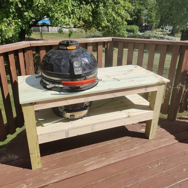 Photo: Kamado Grill Table