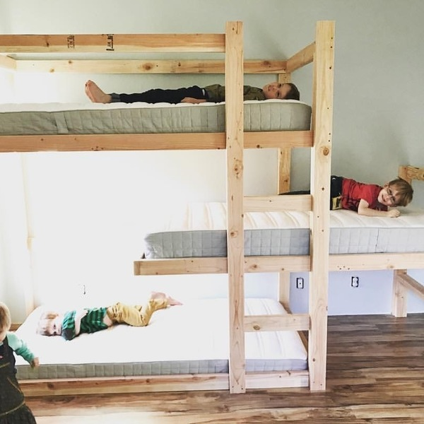 Small Bedroom Bunk Bed Ideas: RYOBI Nation Projects