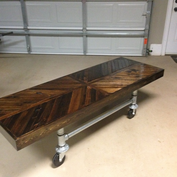 Photo: Industrial Coffee Table