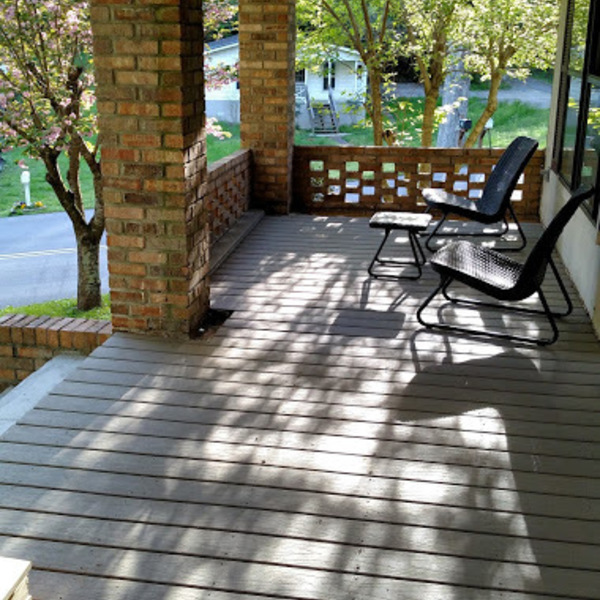 Front Porch Remodel With Composite Decking