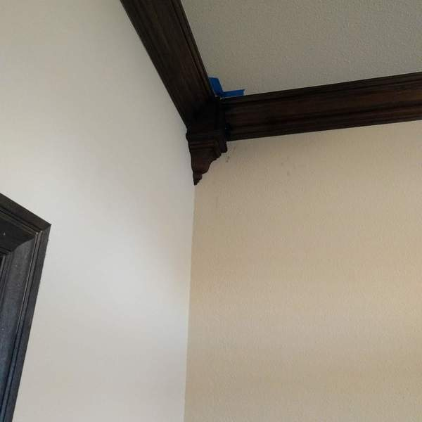 Photo: Crown Molding Addition