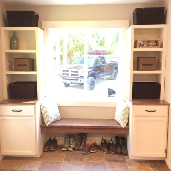 Mudroom Bench Cabinets