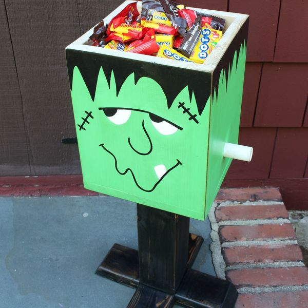 Photo: Frankenstein Candy Box
