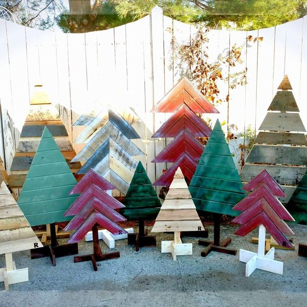 Pallet Wood Christmas Tree.Pallet Wood Christmas Trees Ryobi Nation Projects