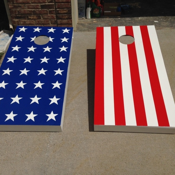 Photo: Cornhole Boards