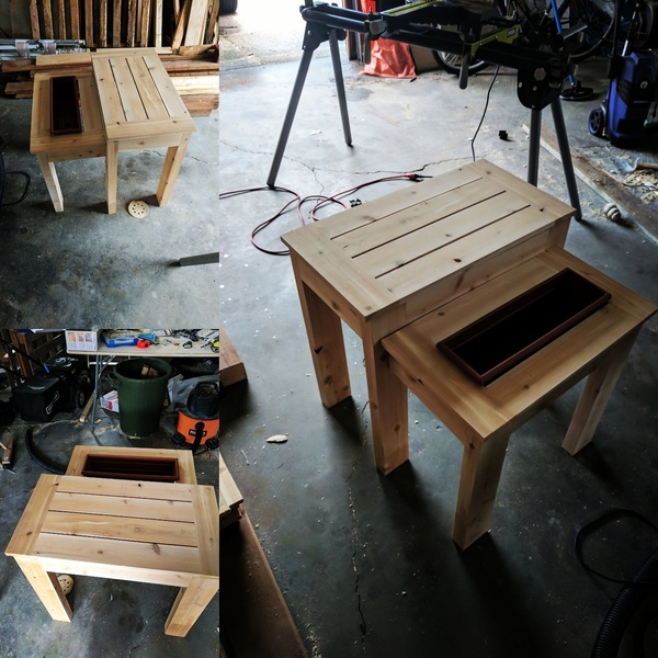 Photo: The Handyman's Daughter Planter Table/Beer Table