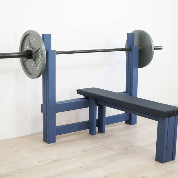 Photo: DIY Bench Press Station
