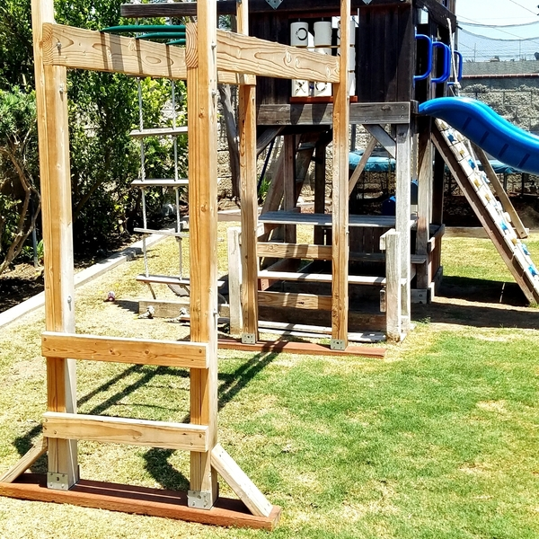 Monkey Bars Diy Ryobi Nation Projects
