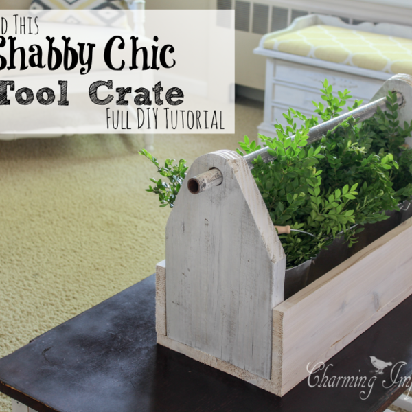 Home Decor Nation: DIY Rustic Tool Crate Decor