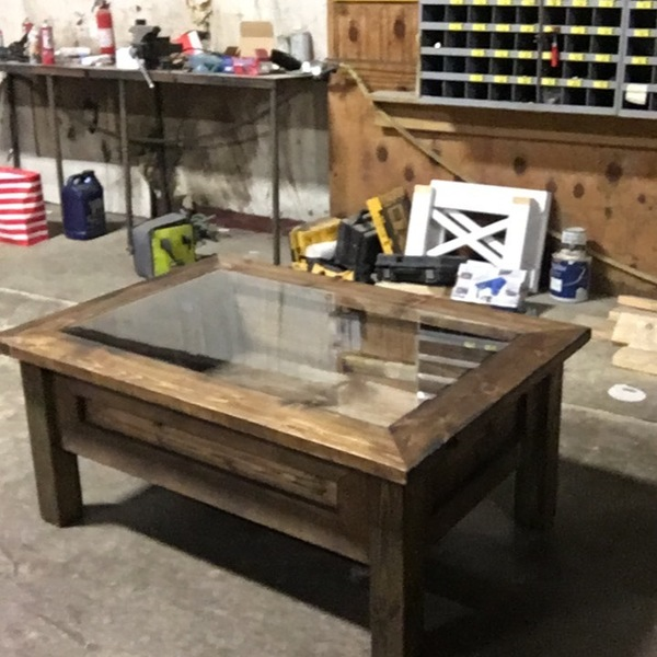 Shadow Box Coffee Table Ryobi Nation Projects
