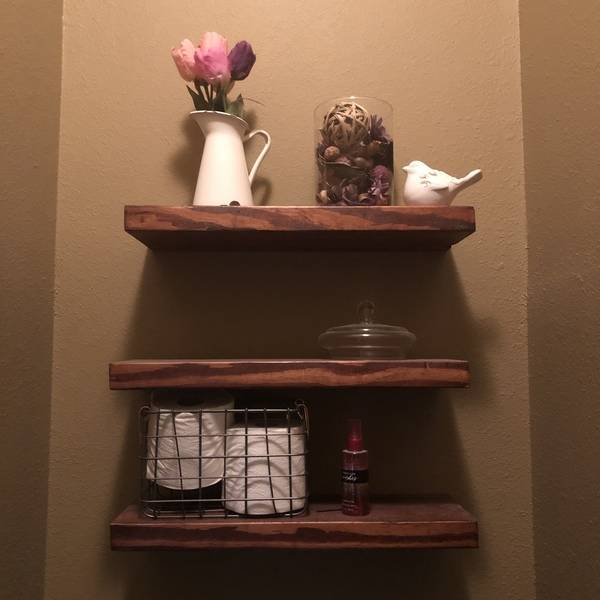 Photo: Floating shelves