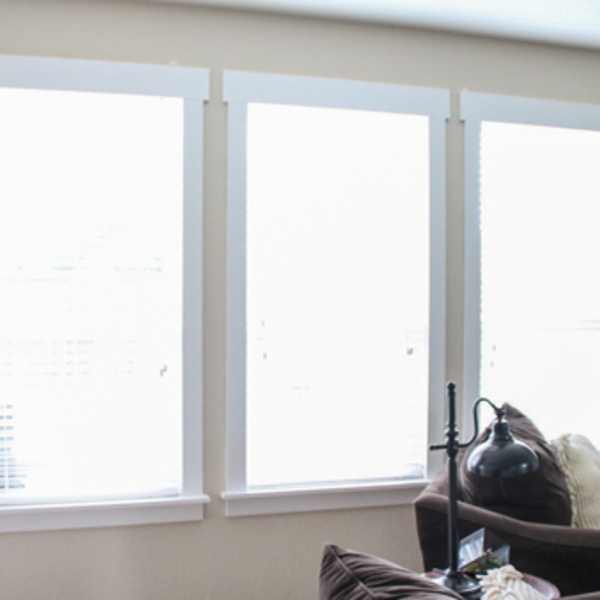 Photo: Easy DIY Window Trim