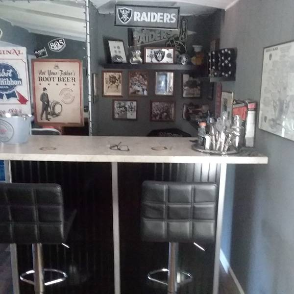 Photo: Raiders themed sports bar