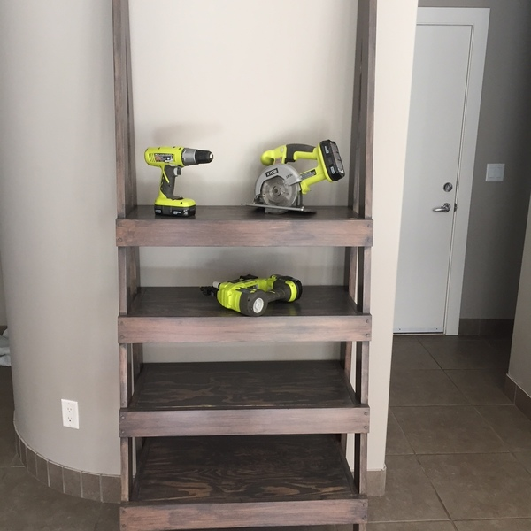Photo: Escape Ladder Shelf Unit