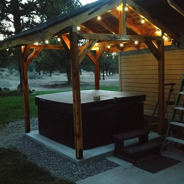 Photo: Juniper hot tub gazebo