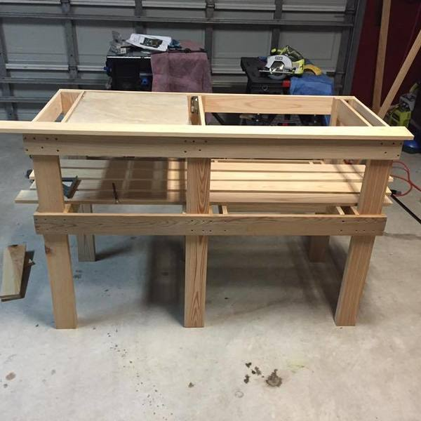 Cypress Kamado Grill Table Ryobi Nation Projects