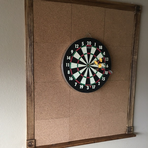 Photo: Dart Board Surround