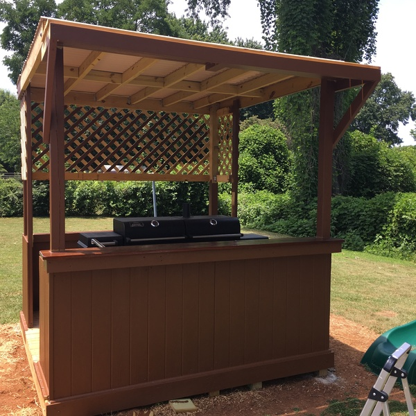 Photo: Outdoor Bar and Grill