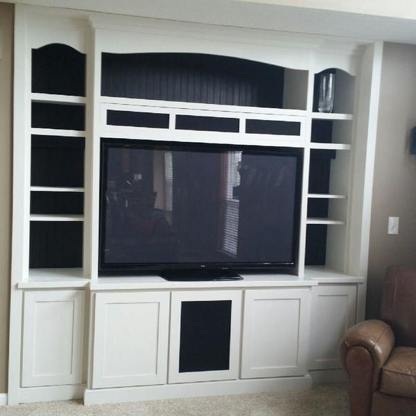Photo: Entertainment center